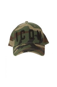 Patterned baseball cap