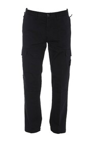 Compass-badge Cargo Trousers
