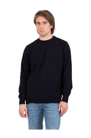 Shaved crew neck sweater