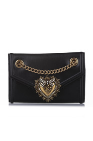 Mini Devotion Leather Crossbody Bag Calf
