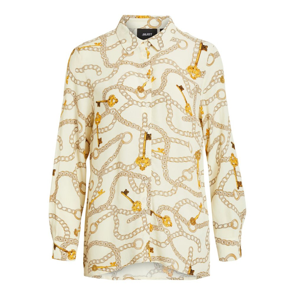 Shirt Loose fit chain printed