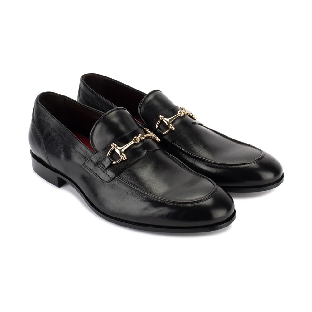 Black Flat shoes | Corvari | Loafers | Men's shoes
