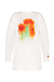 Oversize T-shirt with long sleeves
