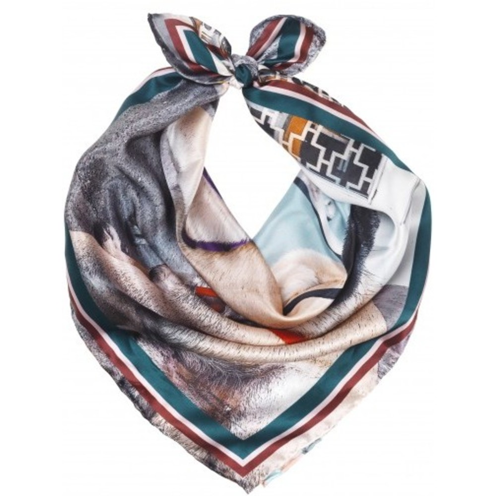 Chp Hunks Silk Scarf