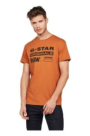 G-STAR D14143 336 GRAPHIC 8 T SHIRT AND TANK Men Ruggine