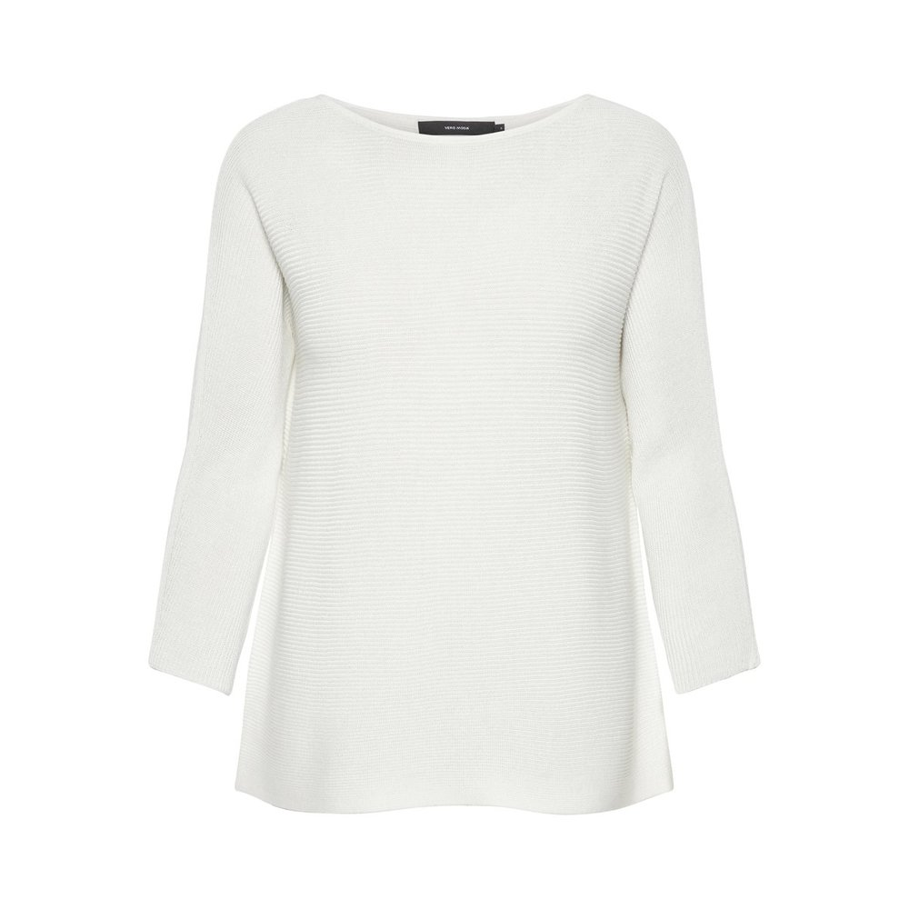 Knitted Top Boat neckline