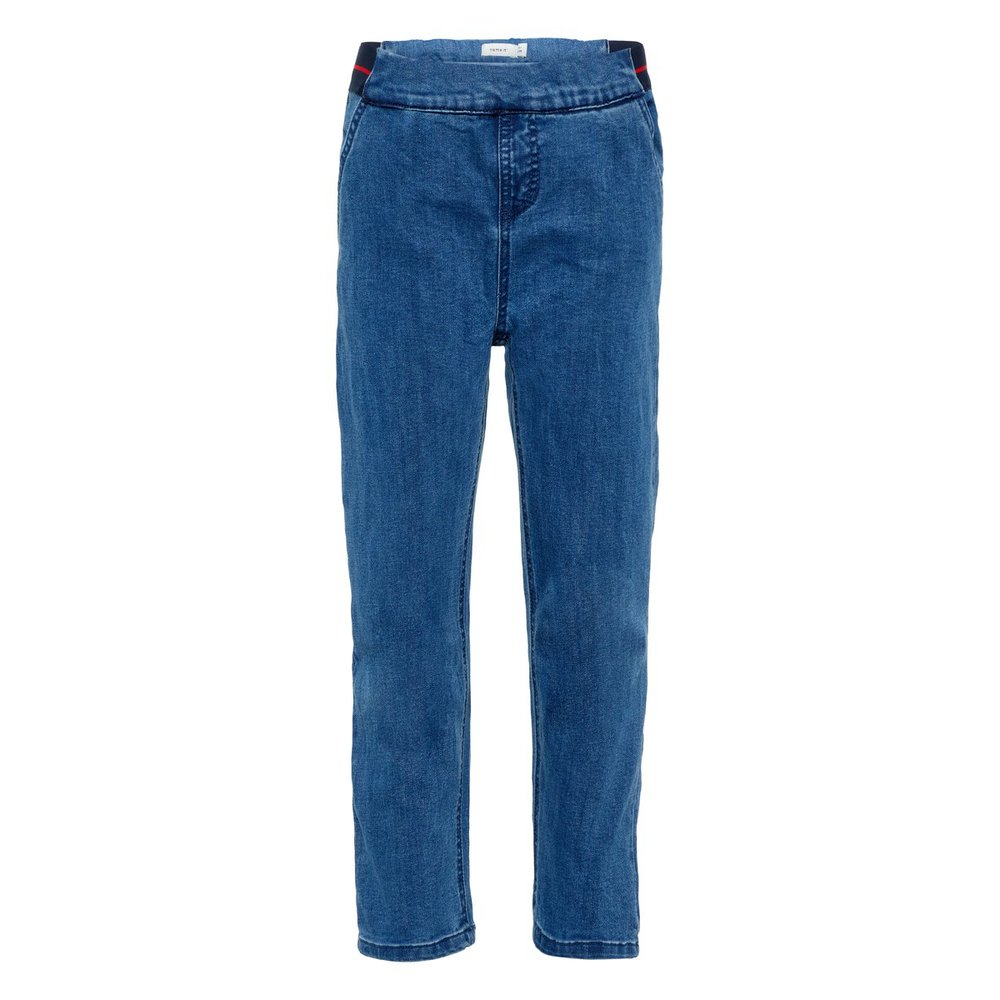 Loose fit jeans cropped