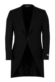 Button fastening morning coat