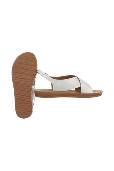 Hvit Sandale   Mulanka   Sandaler