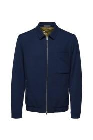 Zipped Shirt Jacket