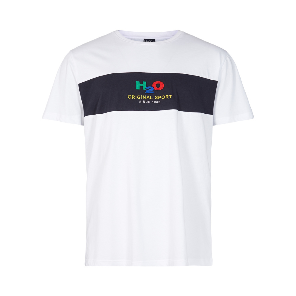 Hvit H2o Club Tee T-Shirt
