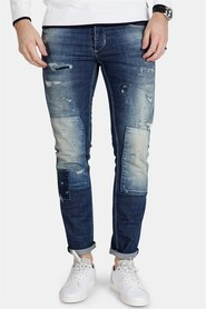Gabba Rey K3145 Mid Patched Jeans