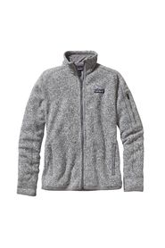 Lys Grå Melert Patagonia Better Sweater Jkt Ytterplagg