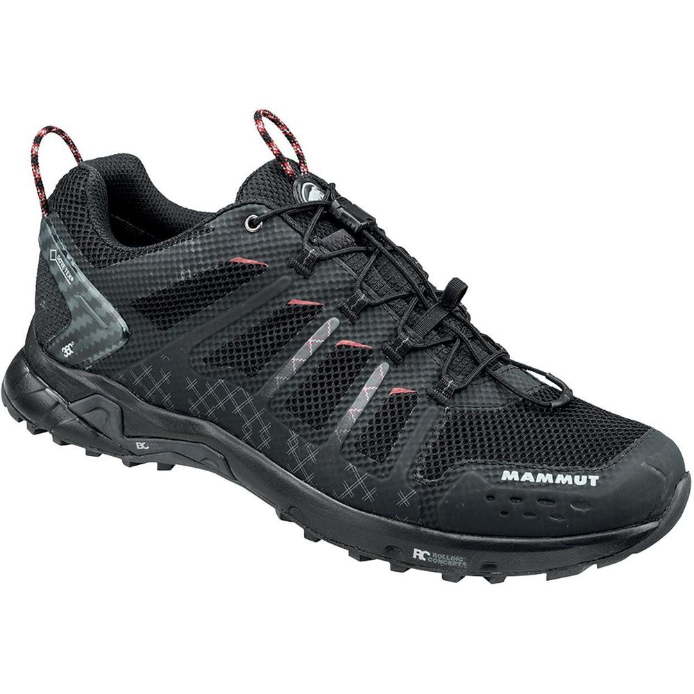 Mammut T Aenergy Low GTX Sko Herre Black-Dark Lava