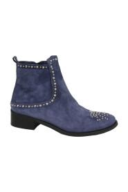 Roberto d'Angelo schoenen enkellaarzen Donkerblauw