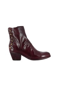 GISELLE 059 leather ankle boots