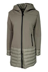 STRETCH WOMAN JACKET WITH HOOD