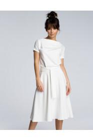 Sukienka z rozkloszowanym dołem B067