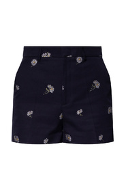 Shorts with gathers