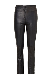 Leather byxor Avery Crop