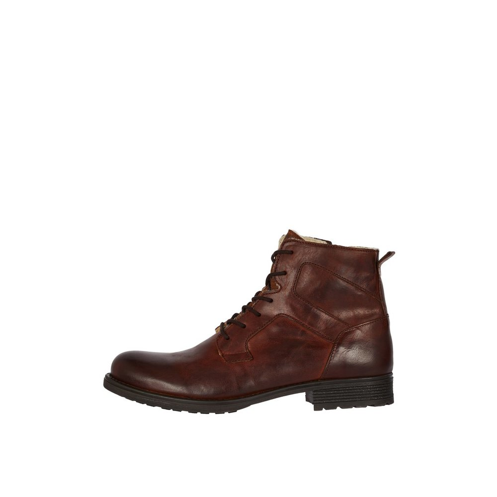 Boots ADRIAN Leather Lace-up