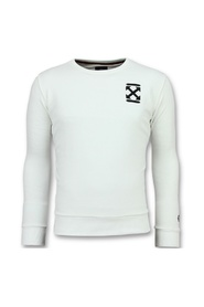 Off Cross - Men's Luxury Sweater