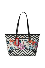 GLASS HOUSE FLORAL SHOPPING BAG