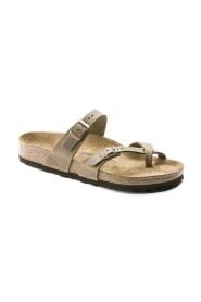 Tabacco Birkenstock Mayari sandal normal lest i skinn