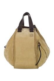 Begagnade Suede Bucket Bag