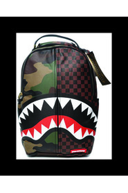 CHECKS & CAMOUFLAGE BACKPACK
