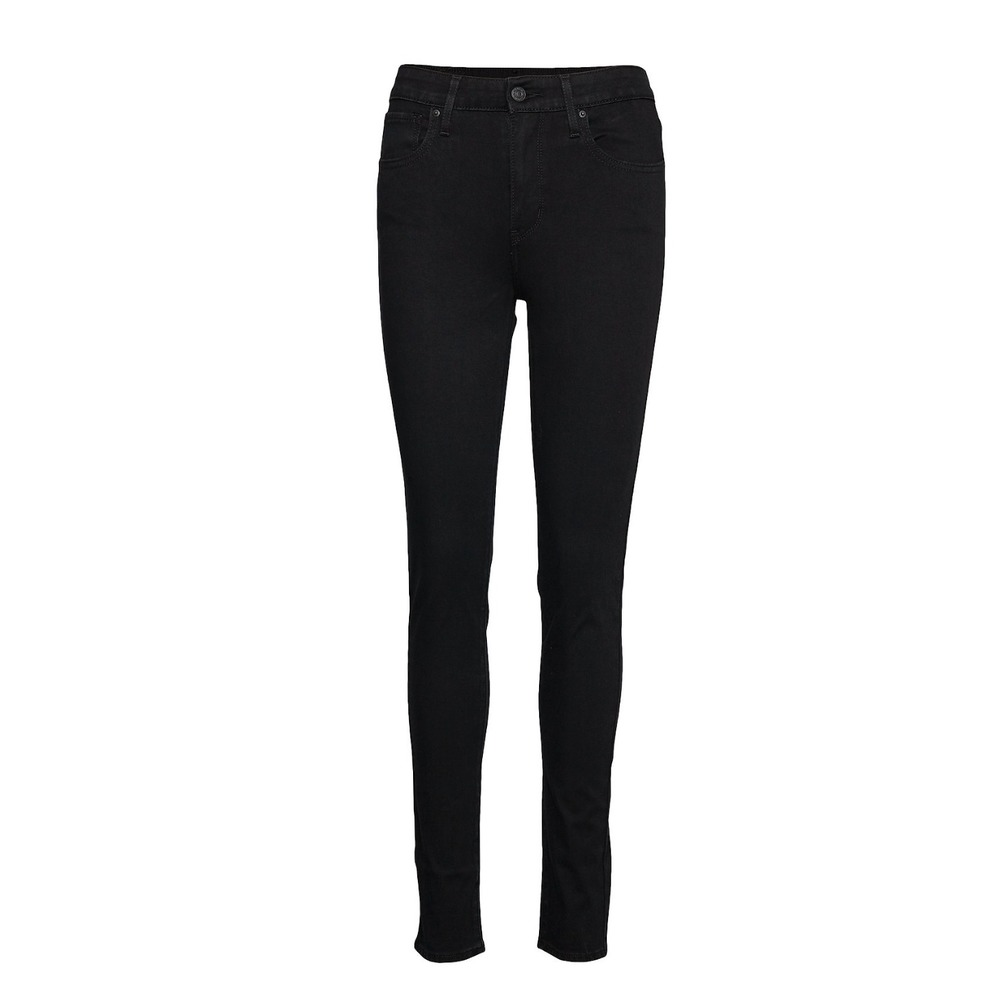 Sort Levis 721 High Rise Skinny Jeans