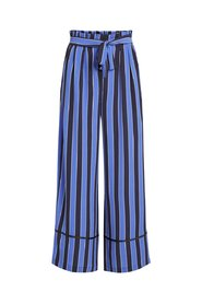 Trousers Striped wide