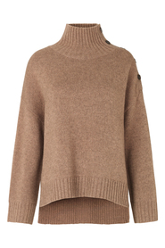 Feist Knit T-Neck Genser