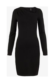 Midi dress Asymmetric neckline