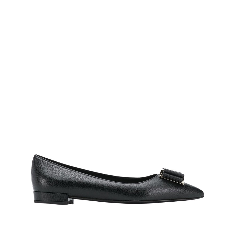 Black Shoes  Salvatore Ferragamo  Ballerinasko - Sko Til Dame