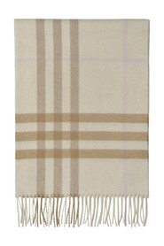 Giant Check Scarf  Cashmere
