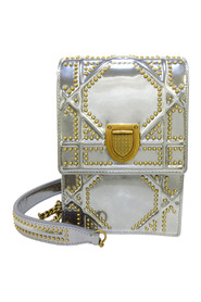 Pre-owned Diorama Patent Leather Crossbody Bag
