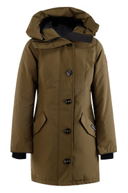 Rossclair Parka With Hood Trim