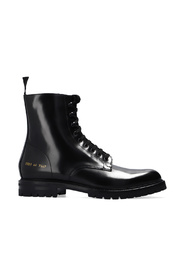 Combat ankle boots