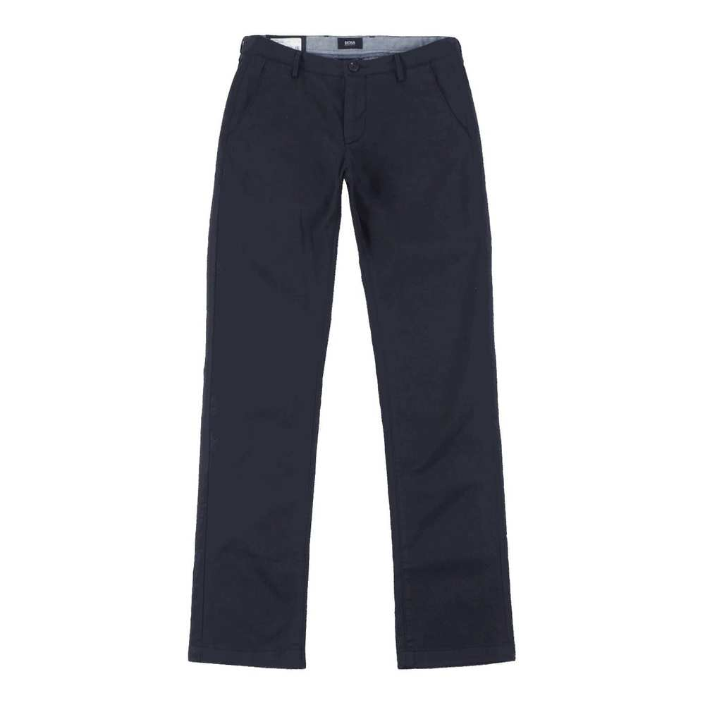 Slim Fit Chinos with a Straight Leg