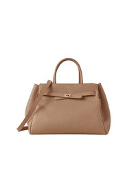 Belted Bayswater With Strap, Light Salmon