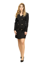 Robe-Manteau Dress With Buttons