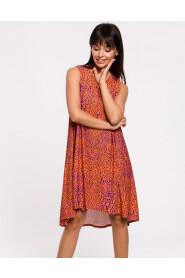 Sukienka z asymetrycznym dołem B141