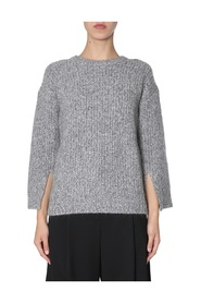 SWEATER WITH SLITS ON SLEEVES