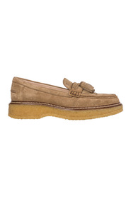 Suede Loafers Mokasiner