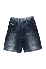 DIESEL 00J4QW KXB37 PBRON SHORTS AND BERMUDAS Boy DENIM