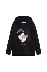 Sweatshirt metalliska applikationer Mickey Mouse