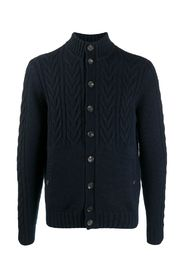 KNITTED BOMBER CASHMERE