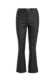 Objbelle Coated Flared Jeans