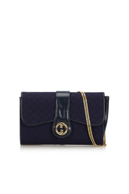 GG Canvas Chain Shoulder Bag